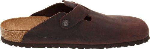 Suede Habana Oiled Clogs Boston Birkenstock Leather 8nfawqBx5