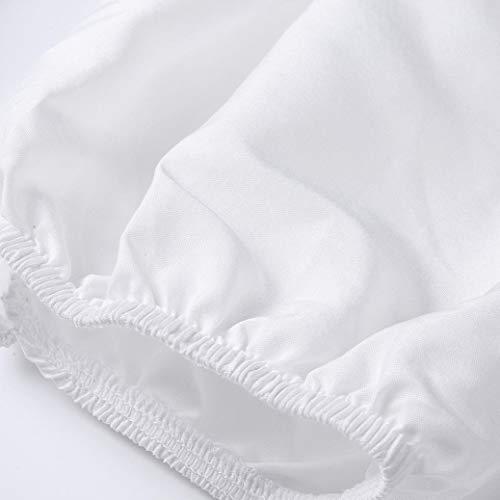 Mousseline Femmes Sexy Femme 4 en Blouses V de Chemise Manches Lanterne Blanc contract Tops Soie 3 Noir en Blanc Col Xinantime D qwBExXvv