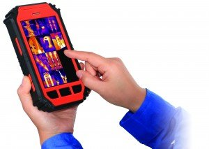 160X120 Android Tablet W// Integrated Thermal Camera PK-160