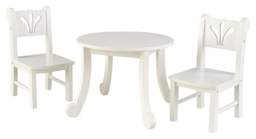 sc 1 st  Amazon.com & Amazon.com: KidKraft Little Doll Table and Chair Set: Toys \u0026 Games