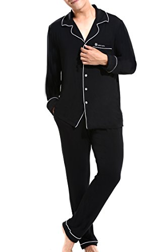 Men's Classic Long-Sleeve Top and Bottom - Classic Pajama Top Shopping Results