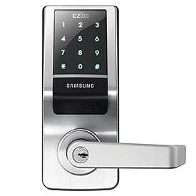 samsung shs 7020 keypad door lock new access control keypads camera photo. Black Bedroom Furniture Sets. Home Design Ideas