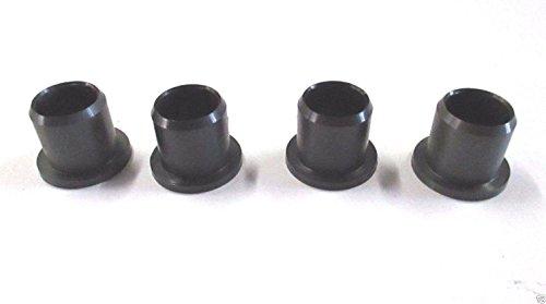 4 Genuine MTD 741-0660A Flange Bearing Fits Bolens Craftsman Troy-Bilt White OEM Mtd Bushings