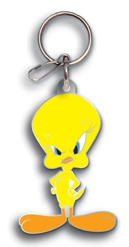 Plasticolor 4225 Tweety Enamel Key Chain ()