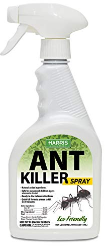 Harris New Ant Spray, Natural Plant Oil Based Quick Kill Formula for Indoor & Outdoor Use, 20oz