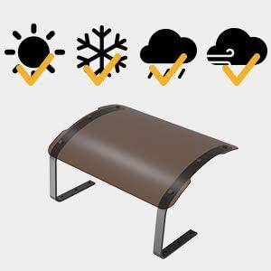 LANDXCAPE LA7000 Abri pour Tondeuse Robot et la station de recharge contre le soleil et la pluie