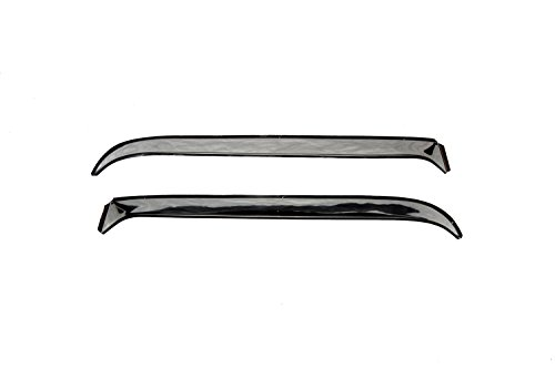 Auto Ventshade 12049 Ventshade with Stainless Steel Finish, 2-Piece Set for 1961-1966 Ford F-100 to F-350 Super Duty