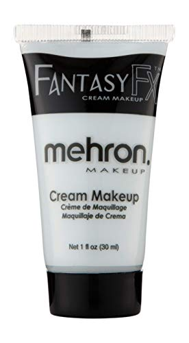 Mehron Makeup Fantasy F/X Water Based Face & Body Paint (1 oz) (Moonlight White) -