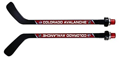 NHL Colorado Avalanche Goal Light Stick (Righty), Medium, Black