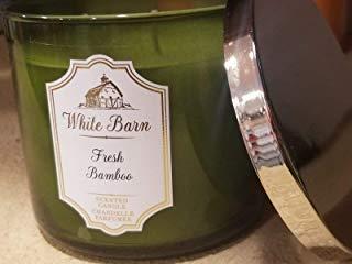 Bath & Body Works Fresh Bamboo 3 Wick Candle 14.5oz - Bilingual Label by Bath & Body Works