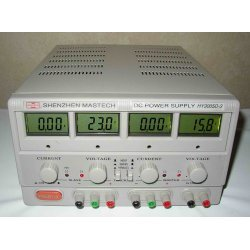 MASTECH triple dc lineare Netzteil 0-30V @ 0-5A variable