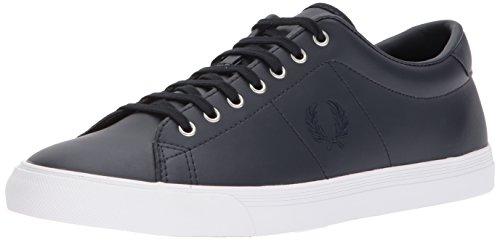 Zapatos de Cordones Azul Navy Oxford Perry para Leather Fred Underspin Hombre BwXtgcI