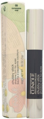 Clinique - Chubby Stick Shadow Tint For Eyes - # 08 Curvaceous Coal (0.1 oz.) 1 pcs sku# 1900582MA