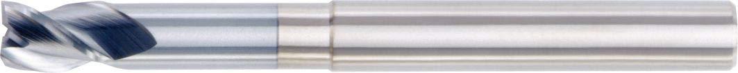 0.5 LOC 0.375 Cutting Dia 2-Flute 0.375 Shank Dia 1.496 Shank Carbide WIDIA Hanita 4AN310024 4AN3 HP Aluminum End Mill Uncoated RH Cut