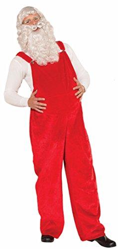 Forum Novelties Santa Costume Overalls
