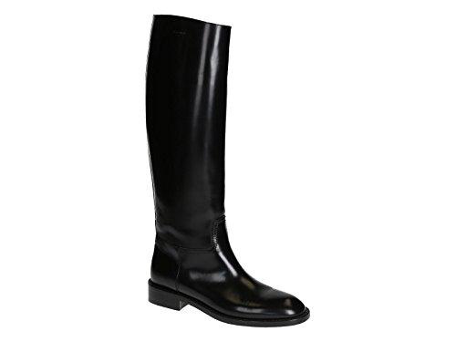 Femme Noir Saint Laurent Bottes 328360AS6001000 Cuir 0pwRfqv