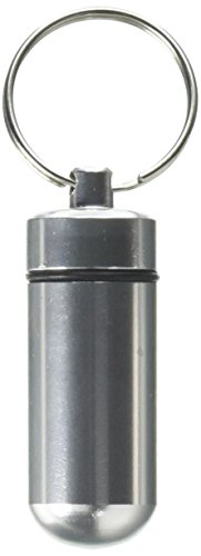 Water proof Air tight Aluminum Keychain Medication