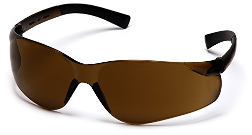 Pyramex S2515S Ztek Safety Glasses, Frame: Coffee, Lens: Coffee (6 Pair) by Pyramex Safety (Image #1)