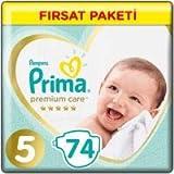 Prima Premium Care 5 Beden Junior 74 Adet Bebek Bezi