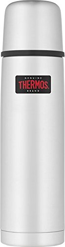 Thermos 4019.205.075 Isolierflasche Light and Compact, 0,75 L, edelstahl mattiert