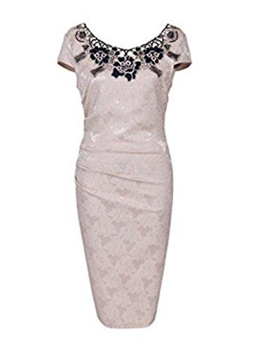 Vickyben - Vestido - para mujer Beige