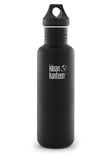 Amazon.com: Klean Kanteen 27 oz botella de agua de acero ...