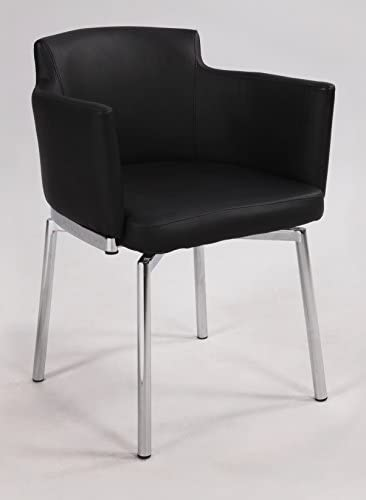 Chintaly Imports Club Style Swivel Arm Chair