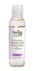 Glycolic Acid Toner Reviva 4 oz Liquid