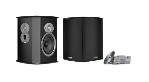 Polk Audio FXI A4 Surround Speakers (Pair, Black) by Polk Audio