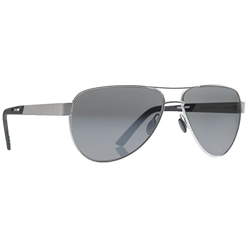 Revision Military 4-0493-0006 Alphawing Sport Metal Sunglasses, Silver - Revision Military Sunglasses