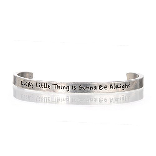 Every Little Thing Is Gonna Be Alright Cuff Bracelet by WHD001 (Image #1)