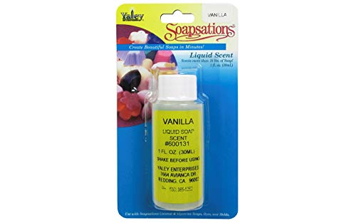 (Yaley 600-131 Soapsations Liquid Scent 1oz Bottle-Vanilla)