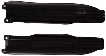 Acerbis Lower Fork Cover Set Black for Kawasaki KX450F 2006-2008