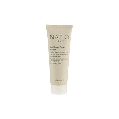 Natio For Men Purifying Face Scrub (100G) (Pack of 6) - フェイススクラブを精製する男性のための(100グラム) x6 [並行輸入品] B072HJ8RR3