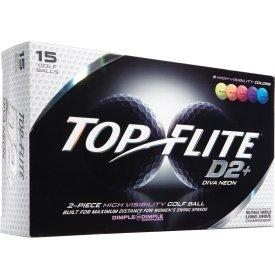 2015 Top Flite D2+ Diva Neon (15 Pack)