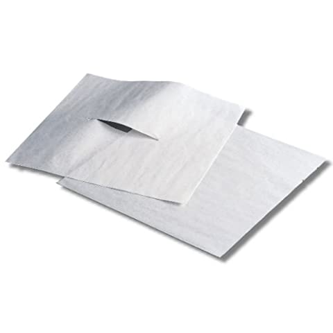 Humactive Massage and Chiropractic Table Headrest Tissue Sheets With Face Slit - 12 x 12 Inch, 1000 - Face Sheet