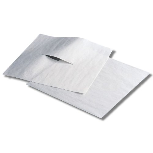 Chiropractic Headrest Sheets - Humactive Massage and Chiropractic Table Headrest Tissue Sheets With Face Slit - 12 x 12 Inch, 1000 Sheets