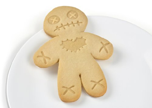 Fred CURSED COOKIES Voodoo Doll Cookie Cutter/Stamper by Fred & Friends (Image #2)