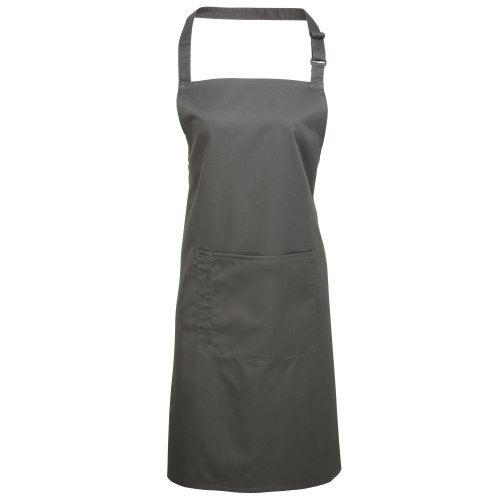 Premier Workwear Colours Bib Apron with Pocket, Top para Mujer Oasis Green