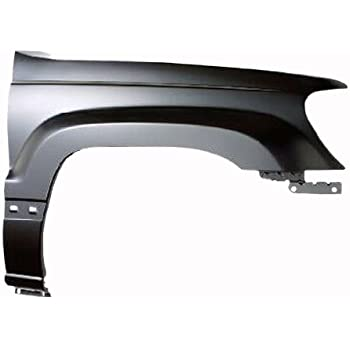 Partslink Number CH1240242 OE Replacement Jeep Cherokee//Wagoneer Front Driver Side Fender Assembly