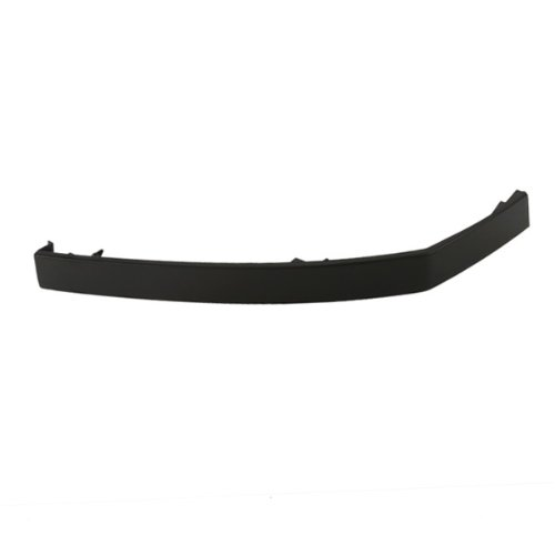 CarPartsDepot, Front Bumper Filler Left (Driver Side) Retainer Panel Black Plastic Replacement Paintable, 346-36107-11 NI1088106 622357S300