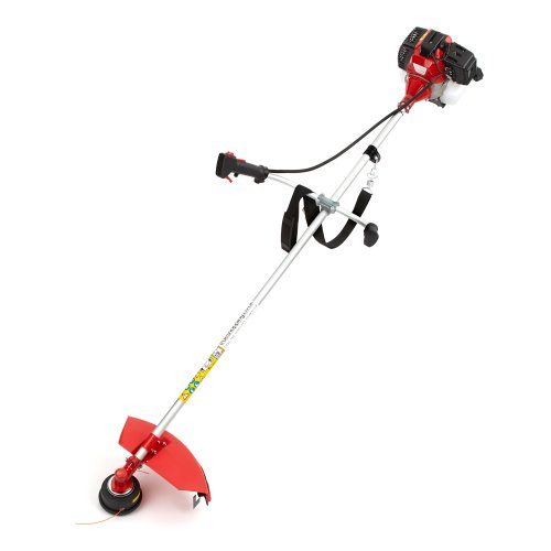 Trueshopping® 43cc Petrol Grass Garden Trimmer Brush Cutter Powerful Heavy Duty Model Easy To Operate 2-Stroke 1.25KW 1.7HP Features Ergonomic Harness