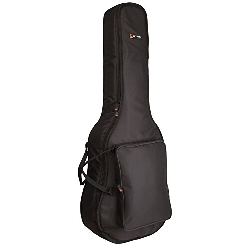 Protec Dreadnought Guitar Gig Bag, Silver Series, Model CF235E (Series Acoustic Dreadnought Guitar Case)