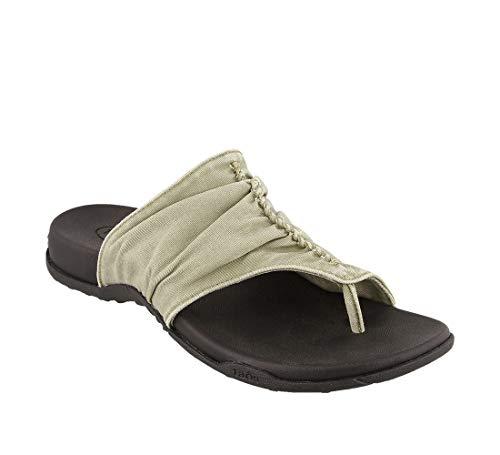 Taos Footwear Women's Leisure Sage Vintage Canvas Sandal 9 M US