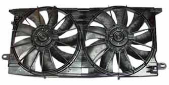 Condenser Seville Cadillac A/c - TYC 621410 Cadillac Seville Replacement Radiator/Condenser Cooling Fan Assembly