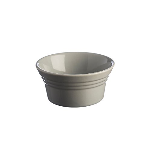 (Mason Cash Classic Kitchen Ramekin, Durable Stoneware Goes from Oven to Table, 6-Fluid Ounce Capacity Ideal for Souffles, Dips and Personally Portioned Dishes, Dishwasher and Freezer Safe, Grey)