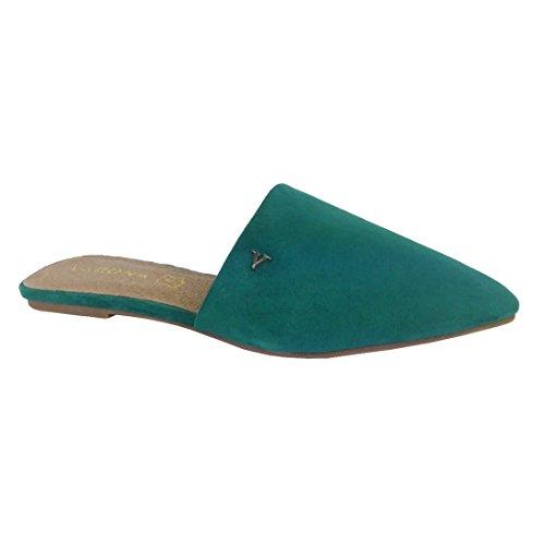 Zapato plano destalonado de Verona