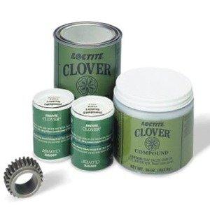 Clover® Silicon Carbide Grease Mix - 1-lb. 400 grit clover silicon carbide gre