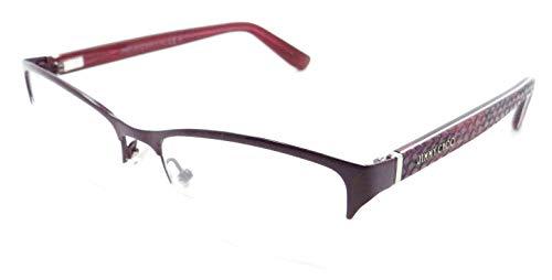 Jimmy Choo Python - JIMMY CHOO Eyeglasses 100 06Ut Fuchsia Python 53MM