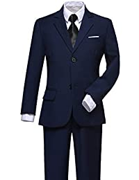 Boys Suits Slim Fit Dress Clothes Ring Bearer Outfit